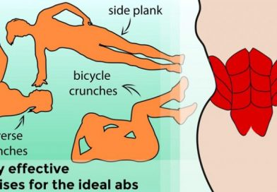 5 truly effective exercises for the ideal abs