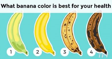 You should know what banana color is best for your health