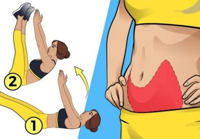 6 exercises to forget about your belly fat